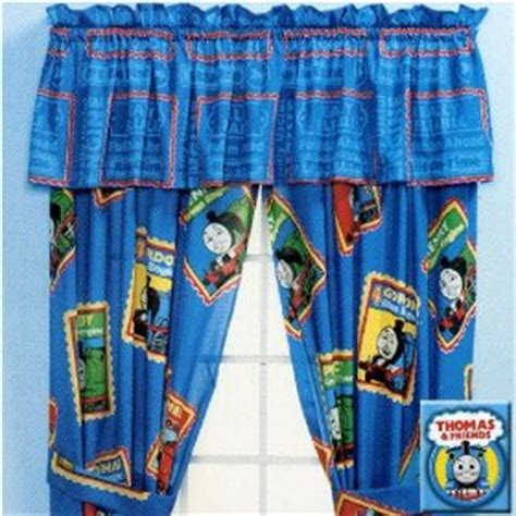 thomas the tank engine curtains thomas the tank window valance home decor hub
