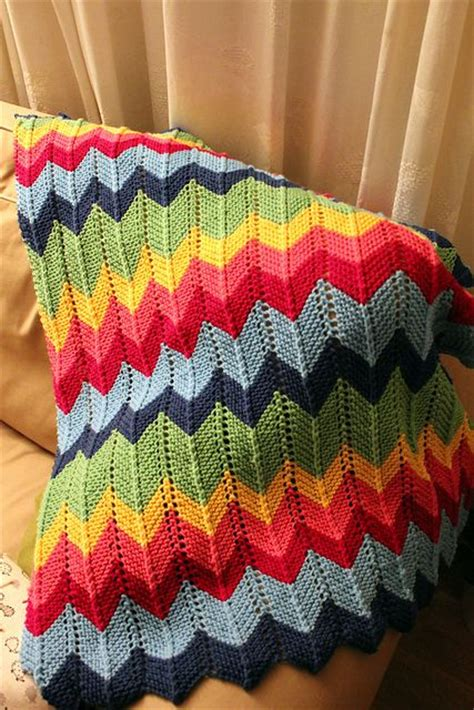 zig zag baby blanket knitting pattern 17 best images about knitting blankets on