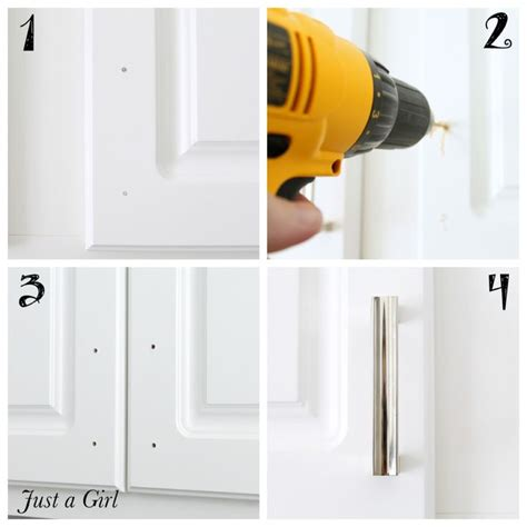installing hardware on kitchen cabinets how to easily install cabinet hardware we create