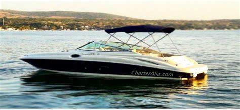 small motor boat hire ibiza hire sea ray 270 speed boat ibiza charteralia boat hire