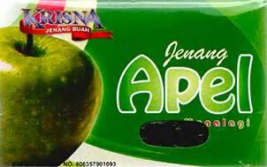 Dodol Apel Manalagi dodol buah buahan