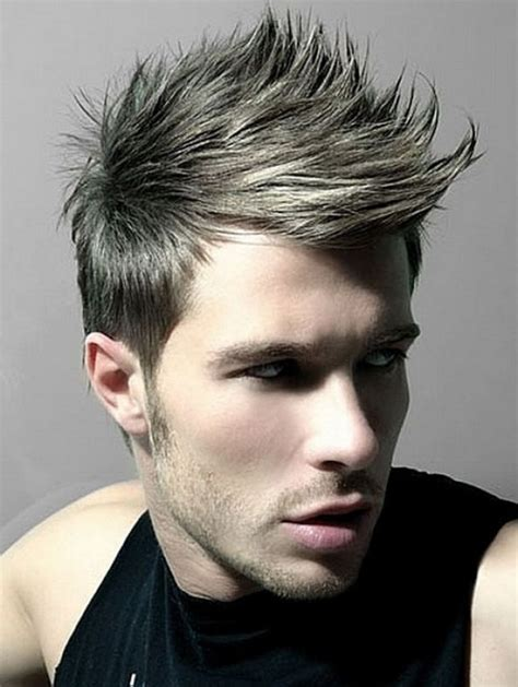 best hairstyles for men spikes 45 cool spike hairstyles for men her canvas