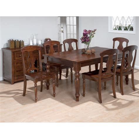 Lodge Dining Room Furniture Lodge 7pc Dining Room Eaton Hometowne