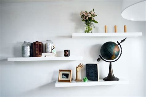 display living room decorating ideas tips to decorate a room with white floating shelves midcityeast