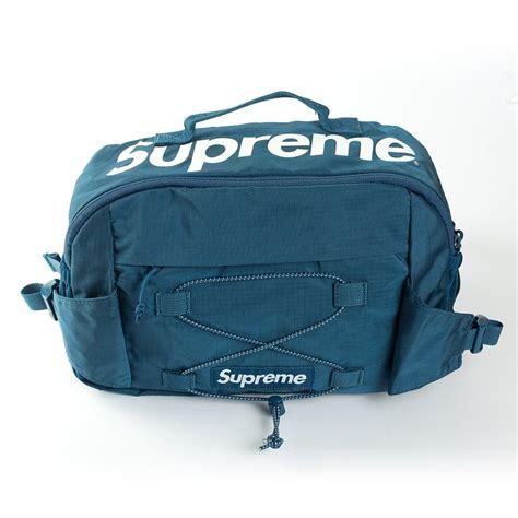 supreme bag torba supreme bag box logo blue accessories bags
