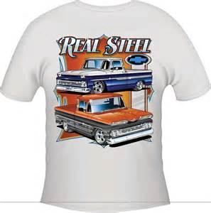 gm truck parts tt7103l real steel t shirt white