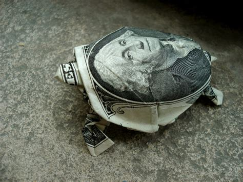 Money Origami Turtle - the affordables forum exchange free straps and