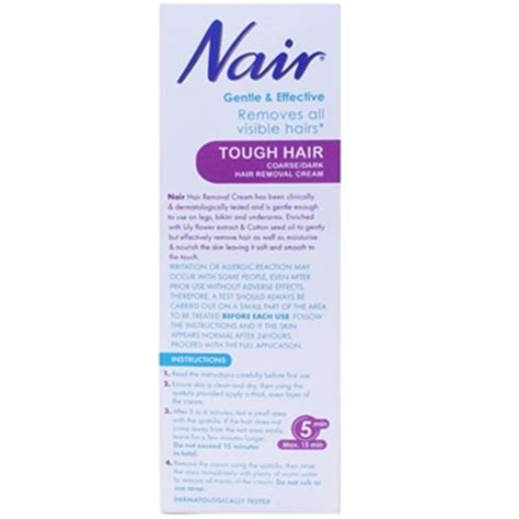 buy nair hair removal coarse hair 200ml 163 4 59