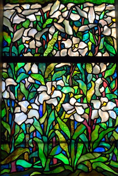 the ls of louis comfort tiffany tiffany window easter lilies windows pinterest the