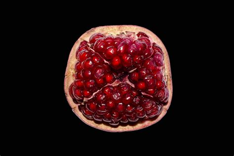 Half Half by Poetry Review Pomegranate Eater By Amaranth Borsuk