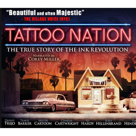 tattoo nation book tattoo nation the true story of the ink revolution dvd