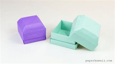 Origami Paper Container - origami boxes