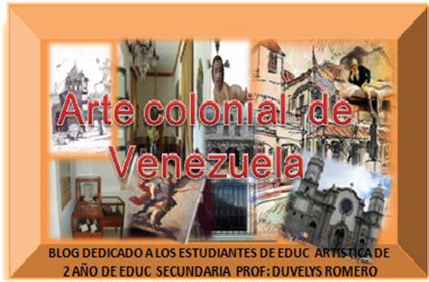 imagenes de venezuela en la epoca colonial arte colonial en venezuela