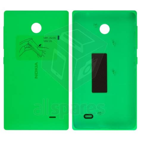 Lcd Nokia X Rm 980 Original back panel cover for nokia x dual sim rm 980 green