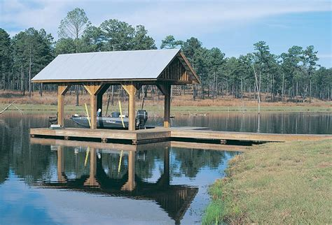 how to build a boat dock roof minimalist boat dock ideas has wooden column and sloping