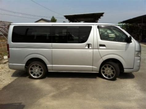 Toyota Vans For Sale Used Toyota Hiace Vans For Sale At Trader Uk Autos Post