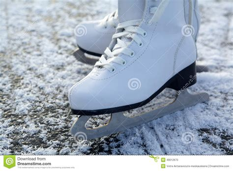 figure images figure skates on stock photo image of cold sport