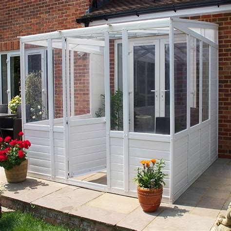 DIY Budget Plastic Glazed Sunroom Garden Room Conservatory