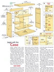 Band Saw Table Rotary Tool Cabinet Plans Woodarchivist