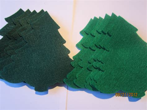 large evergreen table top christmas tree large evergreen felt trees die cuts diy felt christmas trees