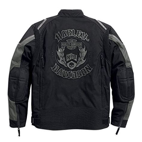 Harley Davidson Mens Lined Denim Sleeve Skull Shirt harley davidson mens willie g skull functional jacket 97094 16vm large shopswell
