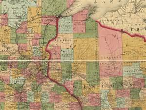 Minnesota Wisconsin Map by Clark County Wisconsin Maps Amp Gazetteers