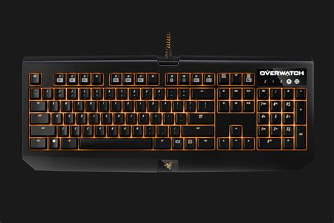Razer Blackwidow Chroma Overwatch Edition Keyboard Gaming 2 overwatch mechanical gaming keyboard razer blackwidow chroma