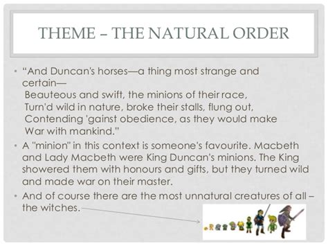 macbeth themes disorder macbeth revision