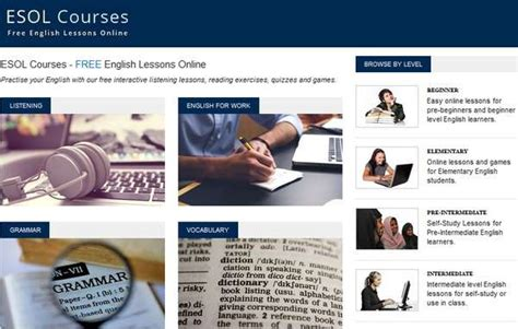 english tutorial online website english lessons online free