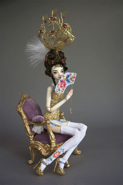 doll sculpture marina bychkova doll sculpture daily muse