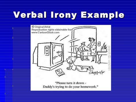 exle of verbal irony izydorczak ext 1329 literary devices
