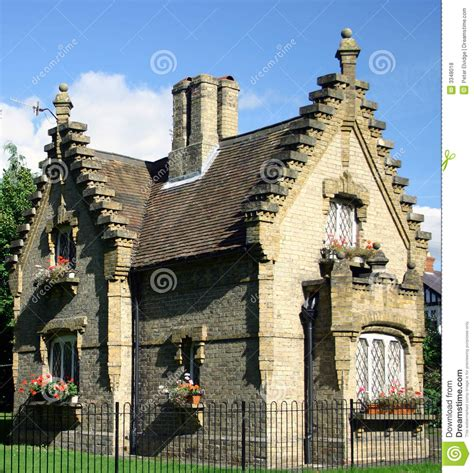 gatehouse cottage stock photo image of rustic
