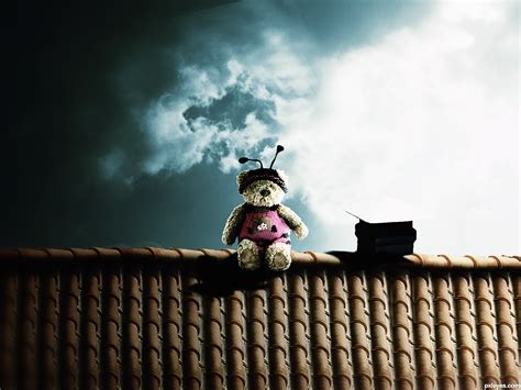 On The Roof | poo on the roof picture by itsdesign for rooftop photoshop contest pxleyes com