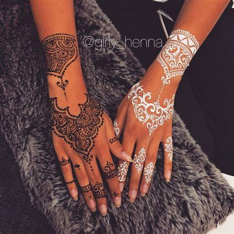 tattoo hand fake 25 best ideas about white henna on pinterest henna