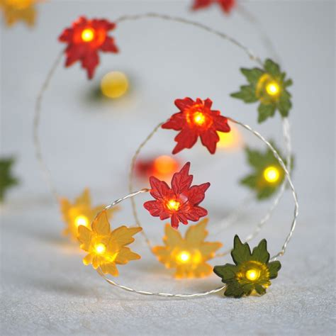 battery lighted fall garland amazon com cordless battery operated 76 quot lighted maple