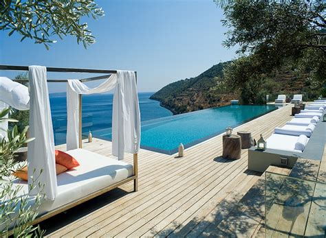 greek backyard designs four breathtaking greek villas