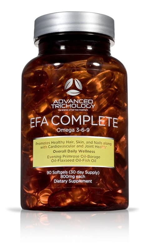 Sonne 7 Detox Directions by Efa Complete Nutraceutical Omega 3 6 9 For Optimal Hair