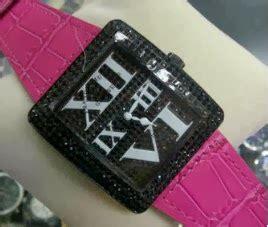 Jam Tangan Wanita Franck Muller Infinity Leather Black Premium A jam tangan original dan replika franck muller infinity black