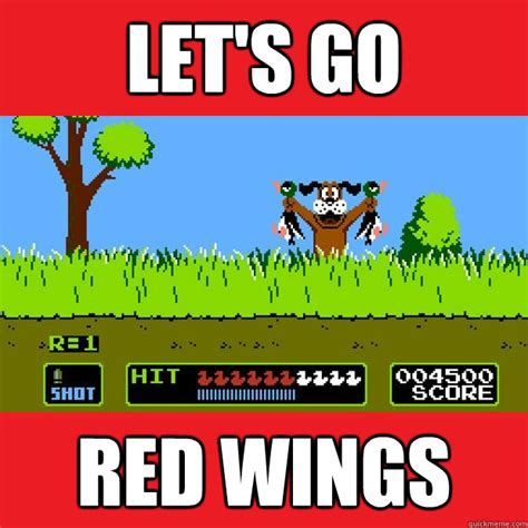Lets Go Meme - let s go red wings misc quickmeme