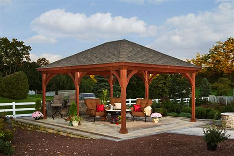 backyard pavilion kits hton pavilions backyard beyond