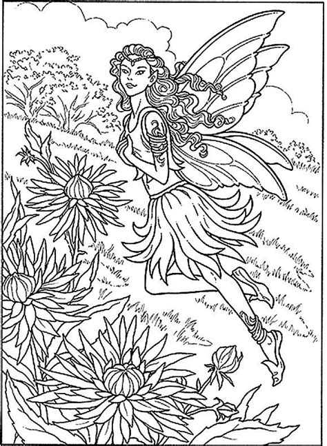 coloring pages for adults difficult fairies google