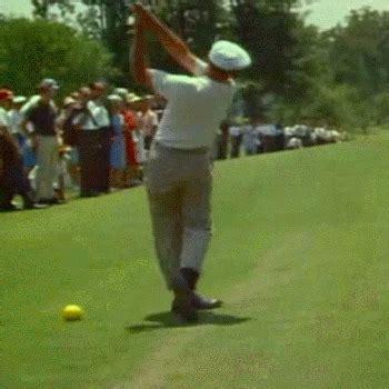 ben hogan golf swing analysis down the line view