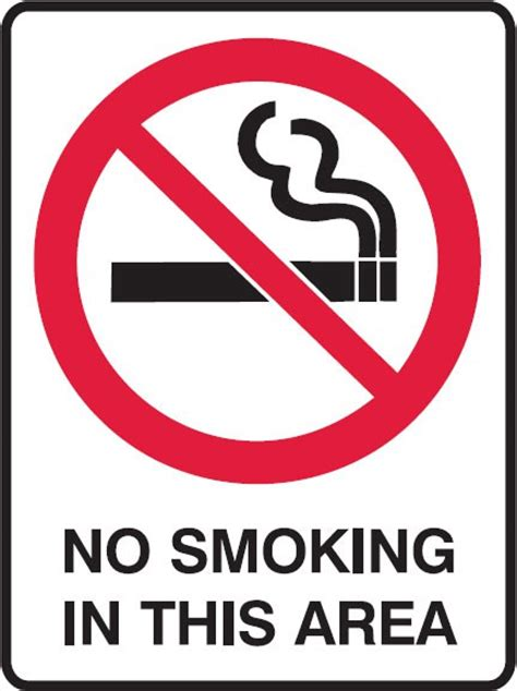 no smoking sign function prohibition signs no smoking in this area seton safety