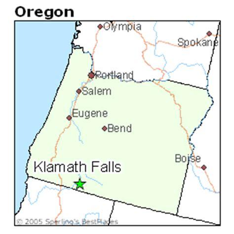 map of oregon klamath falls best places to live in klamath falls oregon