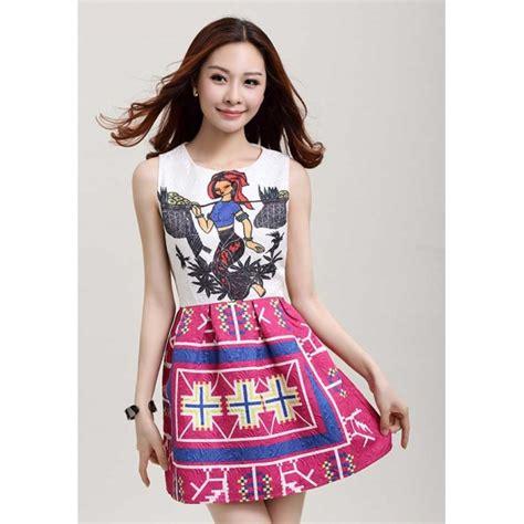 Etnik Dress etnik dress d2254 moro fashion