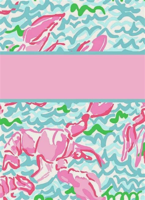 lilly pulitzer binder templates preppy goes back to school with lilly again