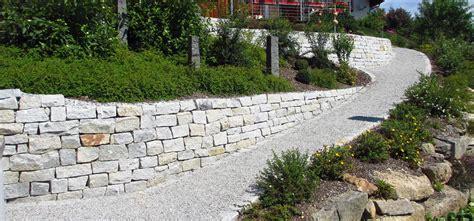 Gartengestaltung Mit Mauern by Mauer Trockenmauer Stein Gartengestaltung Gartenbau