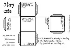 Story Setting Template by 7 Best Images Of Free Printable Story Cube To Make And