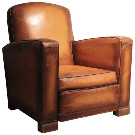 Single Armchair by Circa 1930s Single Leather Armchair At 1stdibs