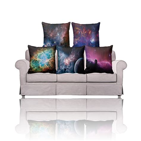 Cushion Covers For Sofa Pillows Ikea Linen Pillow Cover Galaxy Cushion Covers Sofa Car Home Decorative Pillow 40x40cm